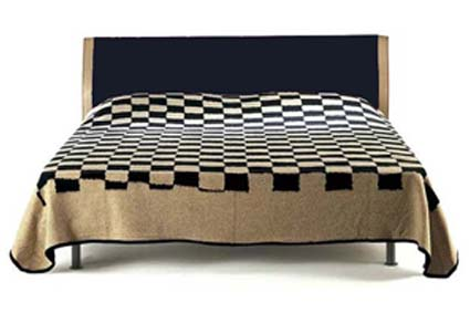 Jacquard bed cover