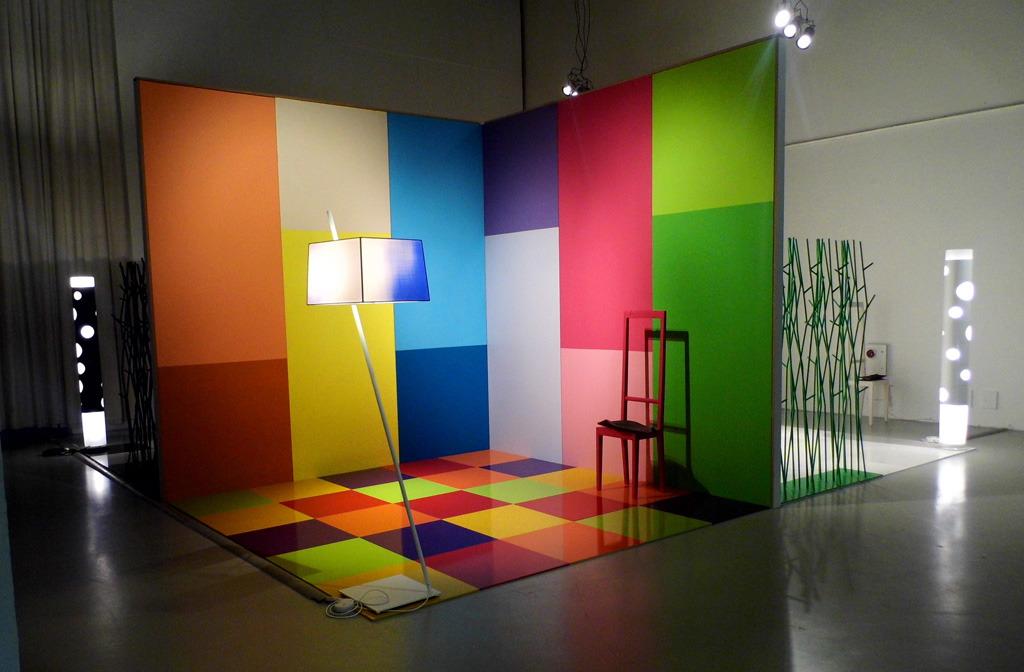 Sensory maps. Color light matter 2